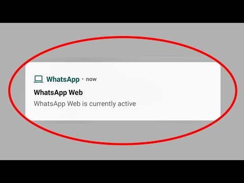 How To Disable/Hide Whatsapp Web Is Currently Active Notification In Android Mobile & Ios