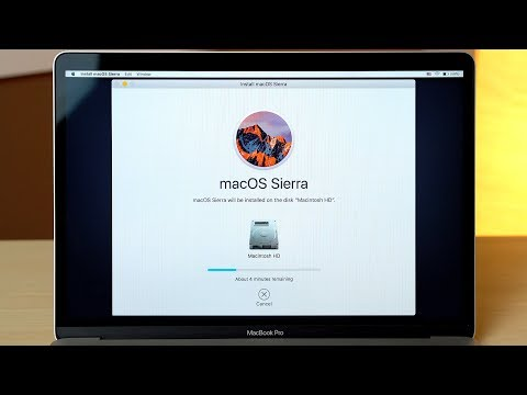 How to set a macbook to factory reset without disks