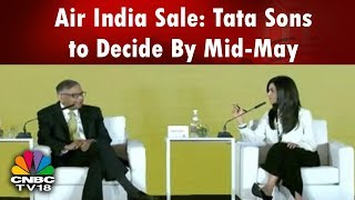AFTER THE BELL |  Air India Sale: Tata Sons to Decide By Mid-May | CNBC TV18