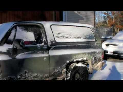 1984 Chevrolet M1009 K5 Blazer Cold Start 6.2L Diesel ...