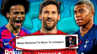 Making Every TRANSFER RUMOR Become TRUE In FIFA 20 Career Mode!