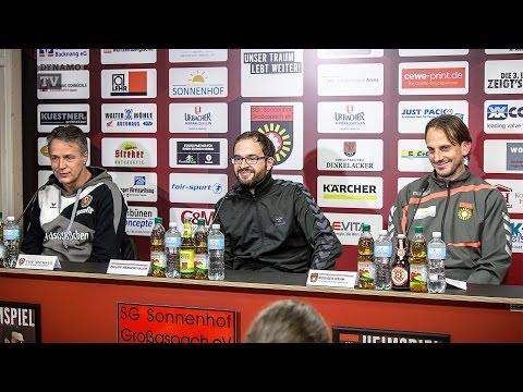 19. Spieltag | SGS - SGD | Pressekonferenz nach dem Spiel