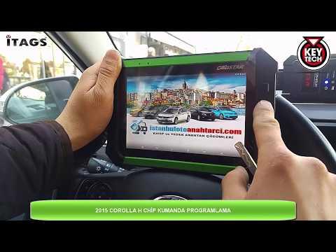 KEY MASTER DP Toyota Corolla, 2015, H (8A/8E) Chipli Yedek Anahtar