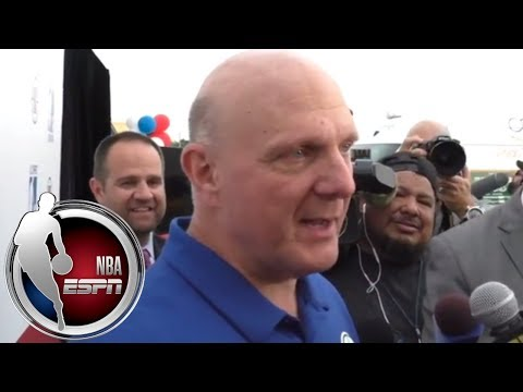Los Angeles Clippers owner Steve Ballmer on Chris Paul, heated matchup with Rockets   NBA on ESPN