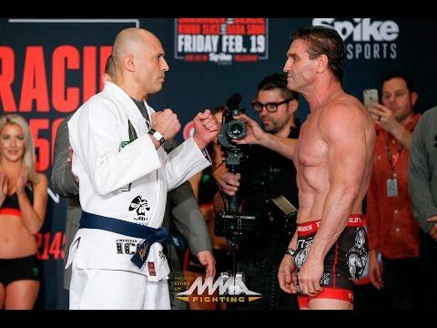 Bellator 149 Weigh-Ins: Royce Gracie vs. Ken Shamrock