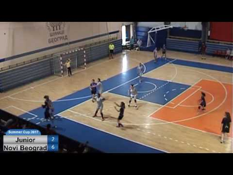 NBSC 2017 : Girls 2003 1st day RK Junior- RK Novi Beograd 11.18