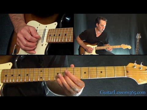 Sweet Child O' Mine Instrumental Guitar Lesson – Guns N' Roses
