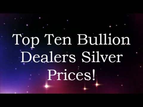 Top Ten Bullion Dealers Silver Prices 8 Jan 2017