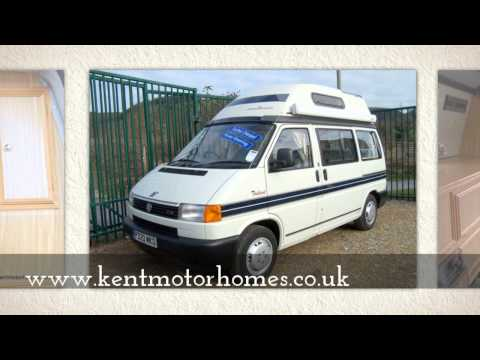 Volkswagen T4 Autosleeper Trident Camper at Kent Motorhome Centre