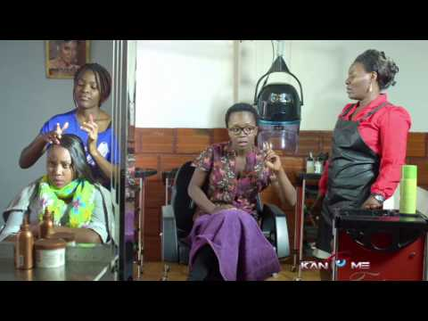 Teargas salon. Kansiime Anne. African comedy