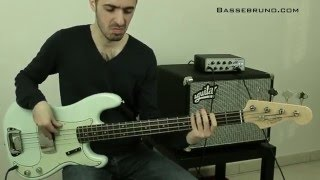 Albert King - Born Under a Bad Sign - Bass Cover - Bruno Tauzin