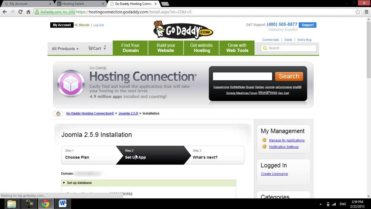 Install Joomla on hosting - its easy