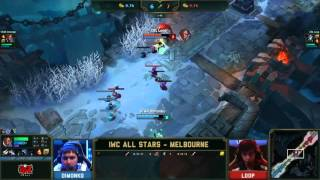 CIS Dimonko Lucian VS Brazil Loop Kindred 1 vs 1 - 2015 IWC All stars