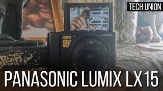 Обзор камеры Panasonic Lumix LX15. Лучшая камера для влогов в 4К!