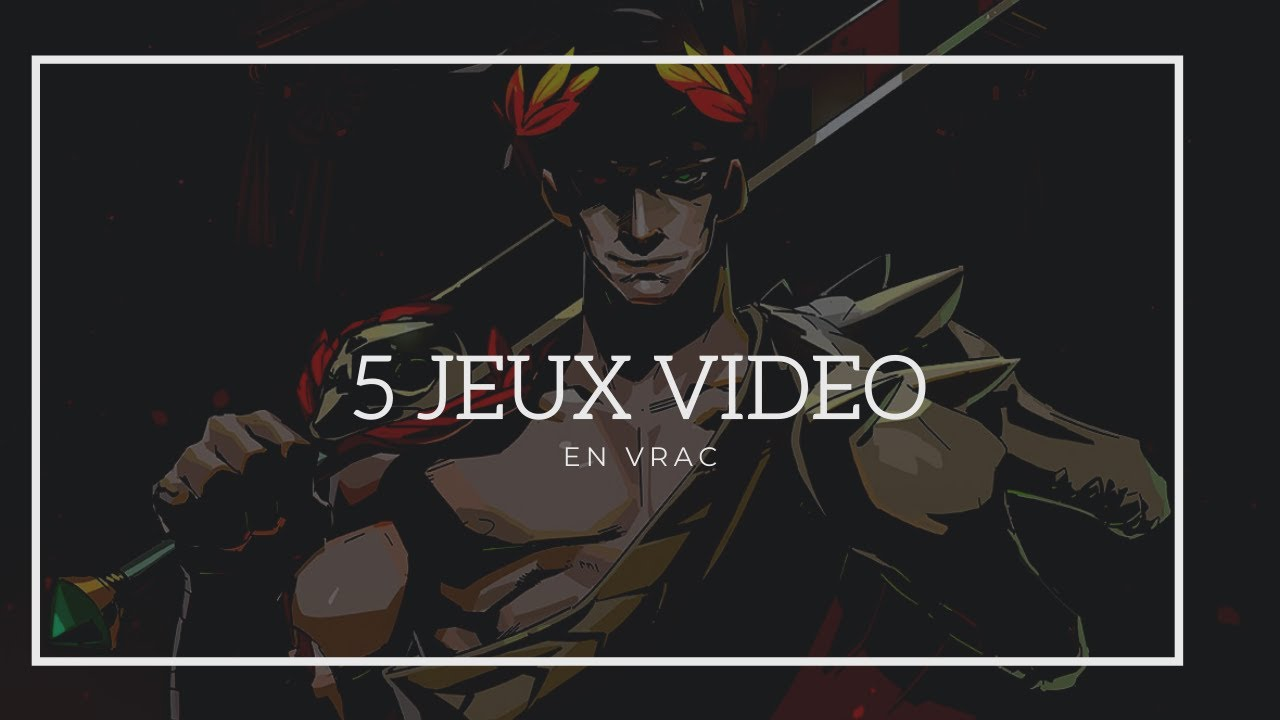 5 JEUX VIDEO EN VRAC ! (Last of us, Uncharted, Hades etc...)