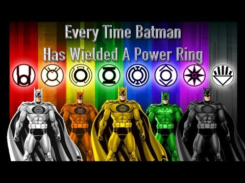 Every Time Batman Has Wielded A Power Ring