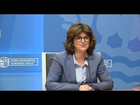 La Consejera  De Salud, Nekane Murga Actualiza La Situación Del Coronavirus En Euskadi (07-05-2020)