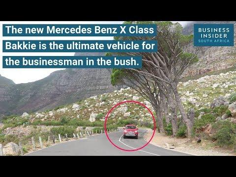 Watch: The cool tech we found inside the Mercedes Benz X class bakkie