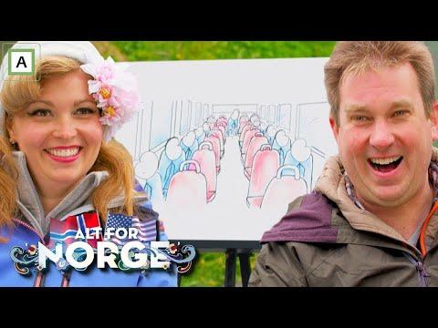 Alt for Norge | Amerikanerne lærer om norsk oppførsel | Dplay Norge