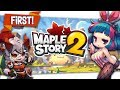 "New MMOLite ARPG ""MAPLE STORY 2"" Hack n Slash Hype!"