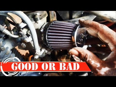 K&N AIR FILTER GOOD OR BAD FOR YOUR BIKE