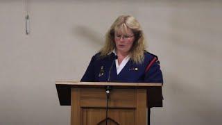 Cindy Hayes  - Church Service, 1st November 2020