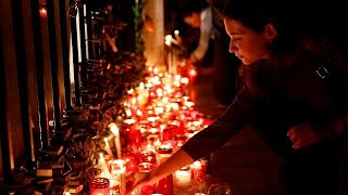 Video Daphne Caruana Galizia: Malta's 'unprecedented mafia-style murder' download MP3, 3GP, MP4, WEBM, AVI, FLV November 2017