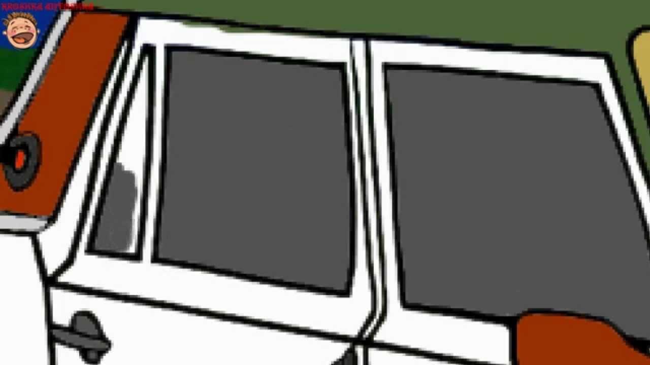 Coloritura con la musica macchine suv cartone animato