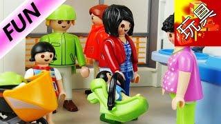 Playmobil 摩比游戏 电影 儿童 幼儿 母婴 妇幼 中心 医院 检查 身体 展示