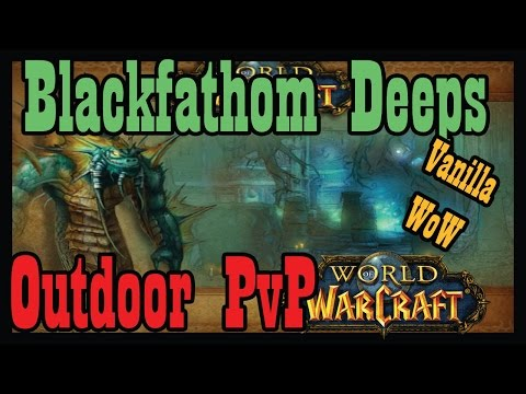 "Blackfathom Deeps World PvP: ""Red = Dead"" (Vanilla World of Warcraft Kronos)"