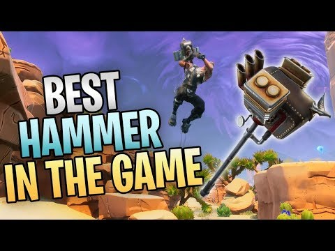 FORTNITE - Level 130 Sunbeam Lead Sled Hammer Gameplay (Best Hammer Melee Weapon In Save The World)