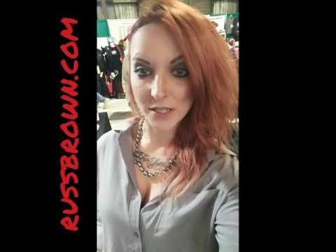 Amanda Lee / Russ Brown interview at 2017 Timonium Motorcycle Show