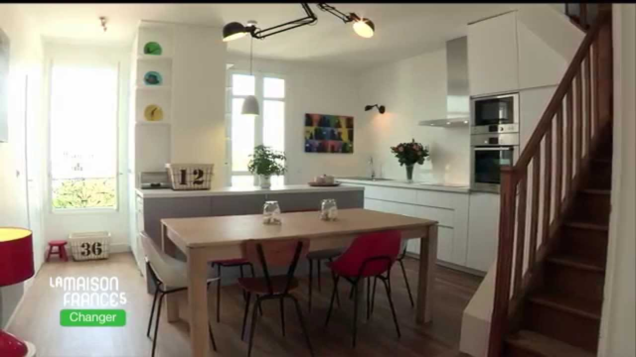 la maison france 5 d corez une cuisine avec maisons du monde youtube. Black Bedroom Furniture Sets. Home Design Ideas
