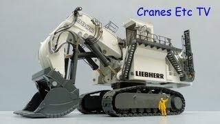Conrad Liebherr R 9800 Mining Shovel by Cranes Etc TV