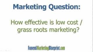 Low Cost Strategies for Funeral & Cremation | FAQ | Funeral Marketing Blueprint