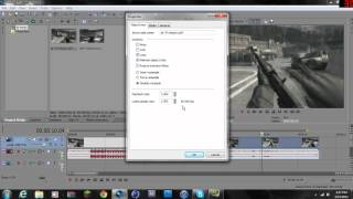 How to do slow motion in Sony Vegas 11