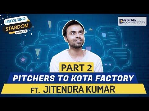 Part 2   With Kota Factory&39;s Jeetu Bhaiyya  Unfolding Stardom Finale  Digital Commentary