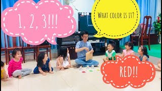 Classroom games - Teaching Colors