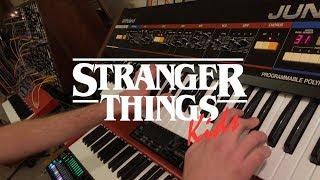 Stranger Things: Kids - Juno 60 & Modular Synthesizer