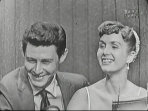 What's My Line? - Eddie Fisher & Debbie Reynolds; Celeste Holm & Elsa Maxwell [panel] (Apr 15, 1956)