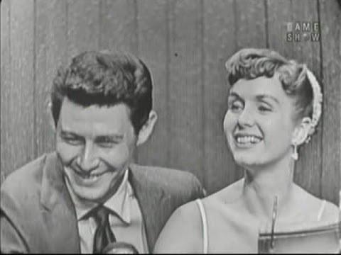 What's My Line? - Eddie Fisher & Debbie Reynolds; Celeste Holm & Elsa Maxwell [panel] (Apr 15, 1956)