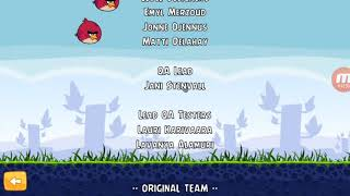 Angry Birds - End Credits (Android, U.S./🇺🇸)