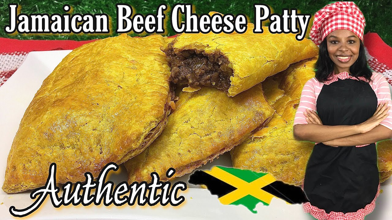 how to make authentic jamaican beef patty with cheese