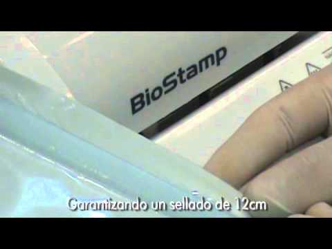 BioStamp Nueva Selladora Travel Video