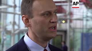 European Court of Human Rights: repeated arrests of Navalny politically driven