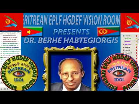 Eritrean New DR. Berhe Habtegiorgis His Recently Visit From