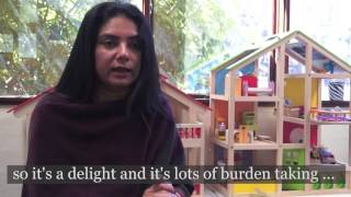 Barnardos case manager Seema talks about Gifts For Kids