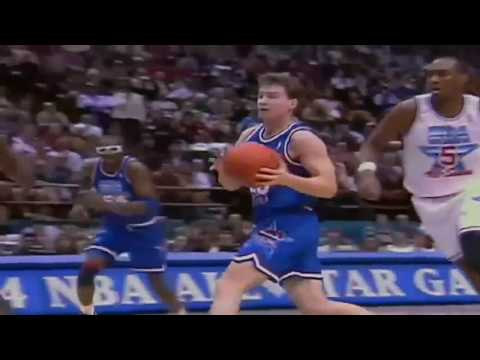 Patrick Ewing Dunks 1994 NBA All Star Game