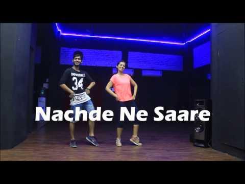Nachde Ne Saare | Baar Baar Dekho | Zumba choreography | V!cky & Aakanksha