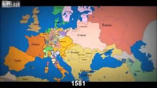 1000 Jahre europäische Geschichte u.a. Deutschland-Russland - in 3 Minuten zusammengefasst